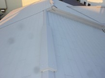 倉敷市白楽町 O様邸 瓦→カラーベスト葺き替え工事 施工後写真